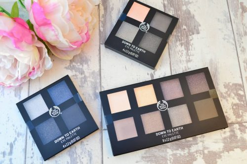 The Body Shop Down To Earth Palettes – 100% VEGAN