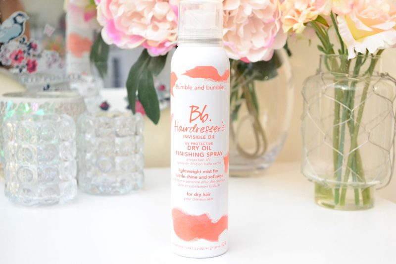 Bumble and Bumble Dry Oil Finishing Spray Review (UK Launch)