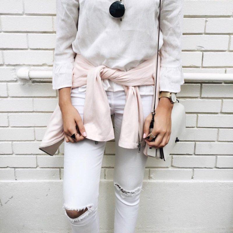 Wear White In Winter