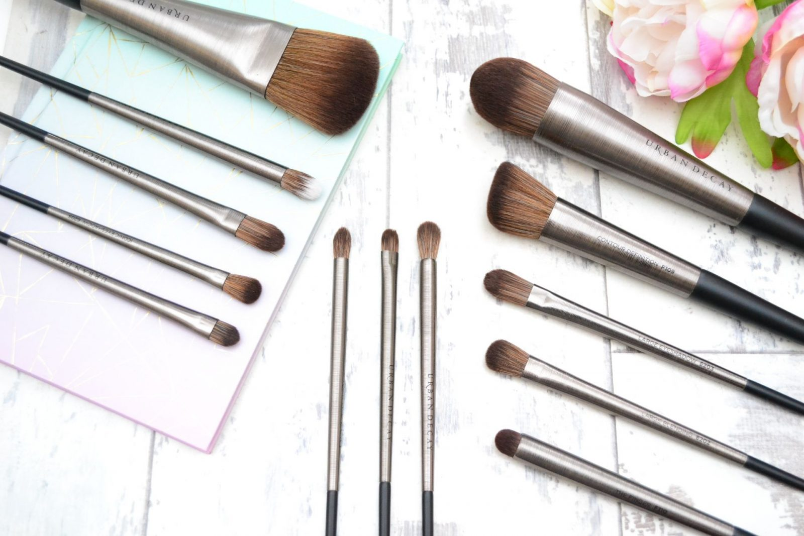 urban decay brushes. urban decay pro brushes review o