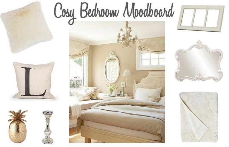 Cosy Bedroom Mood Board