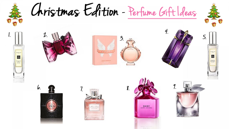 Christmas Edition – Perfume Gift Ideas