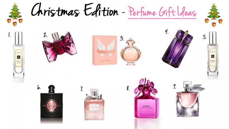 Christmas Edition – Perfume Gift Ideas