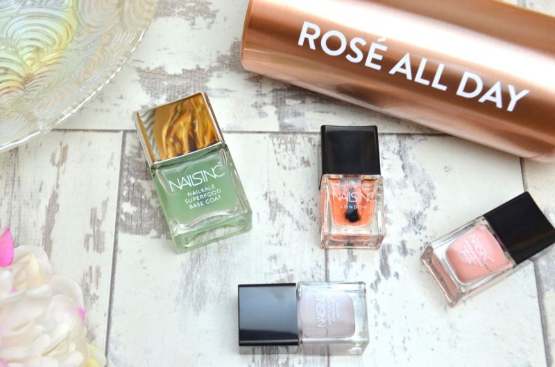 Nails Inc Rose All Day Review