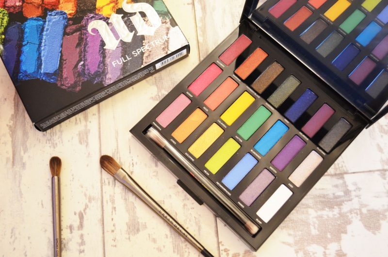 Urban Decay Full Spectrum Palette Review and Makeup Tutorial