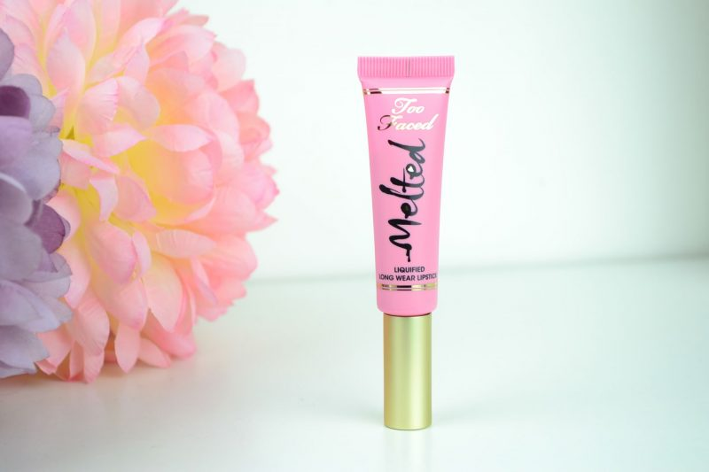 Too Faced Melted Liquified Lipstick Review
