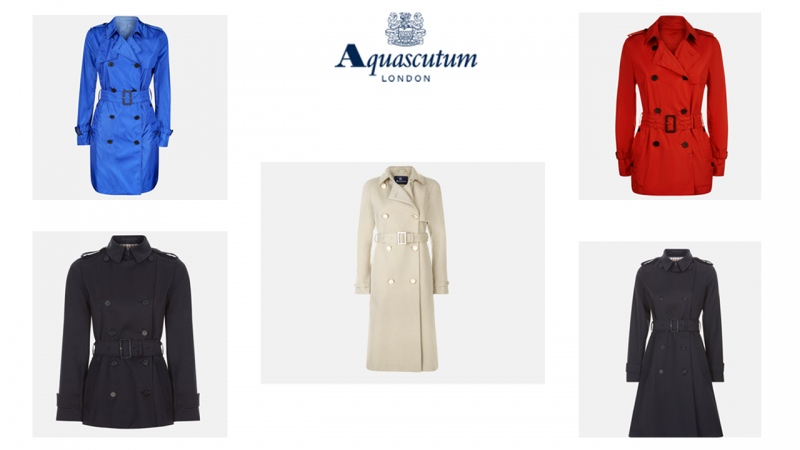 Aquascutum Trench Coat Wishlist