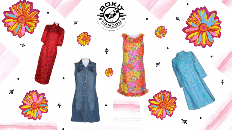 vintage clothing with rokit sprinkles of style