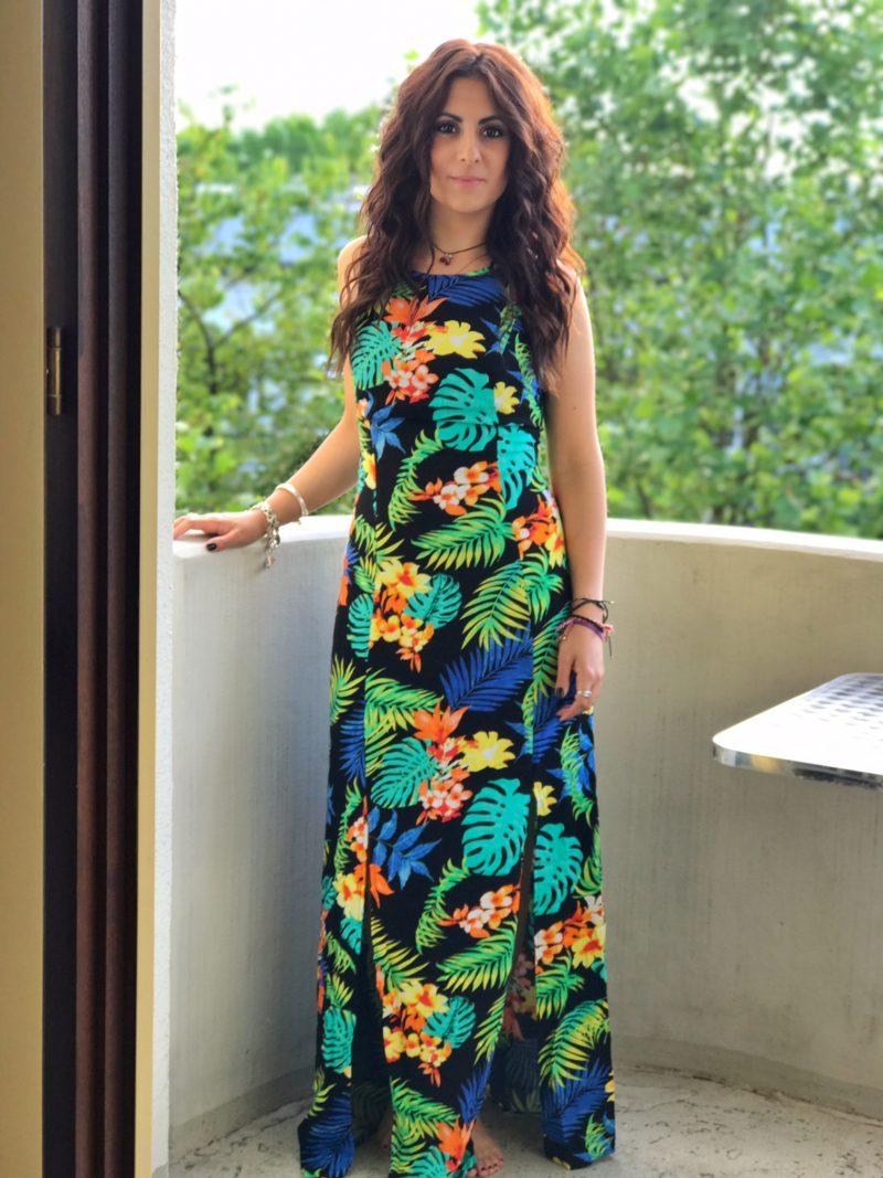 Tropical Flower Maxi Dress – Jane Norman