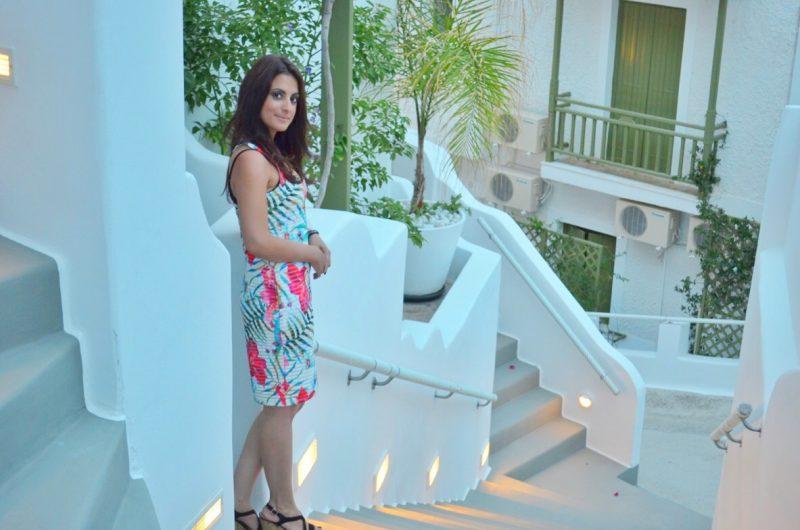 Tropical Bodycon Dress