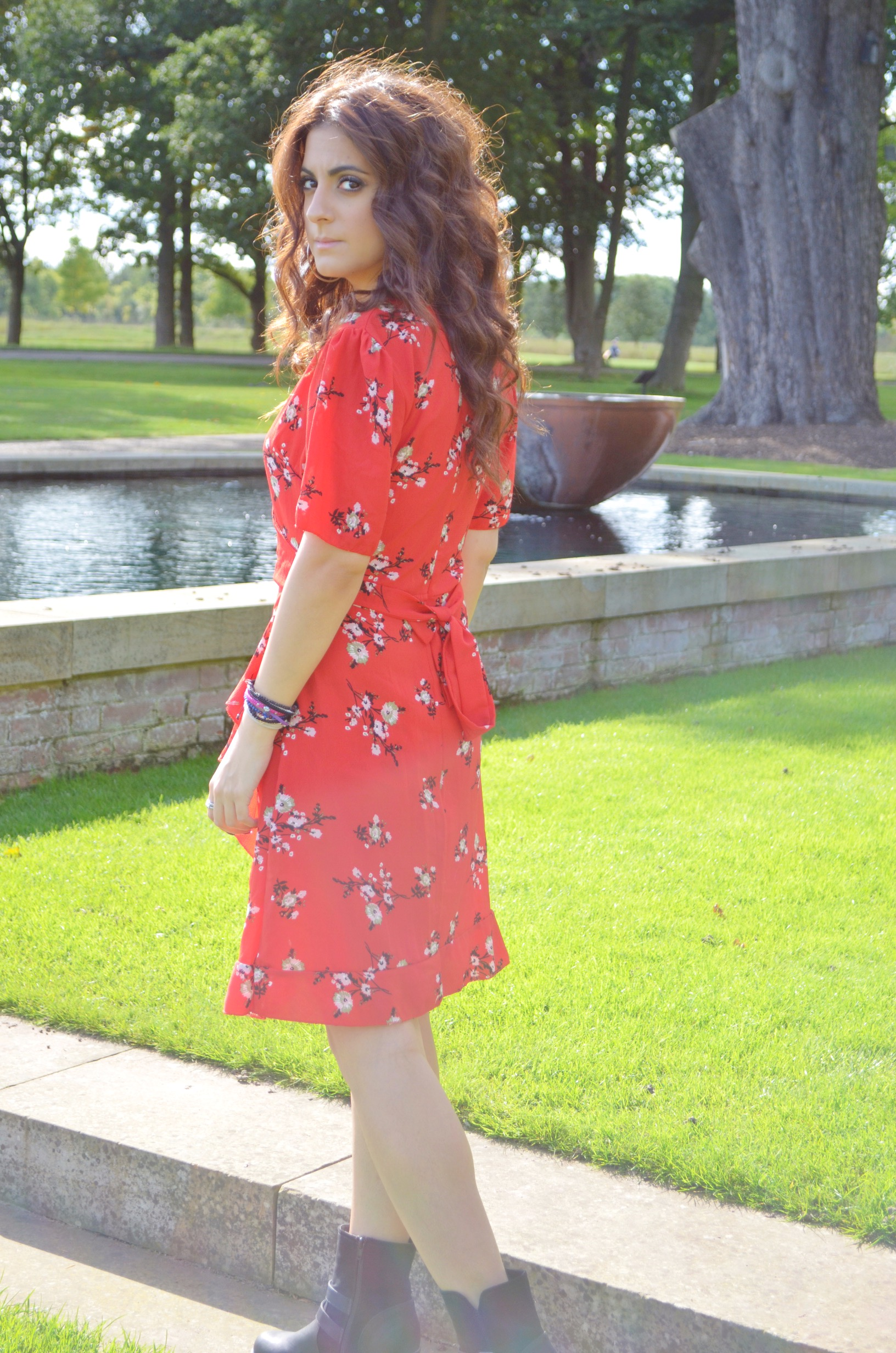 red-floral-wrap-dress
