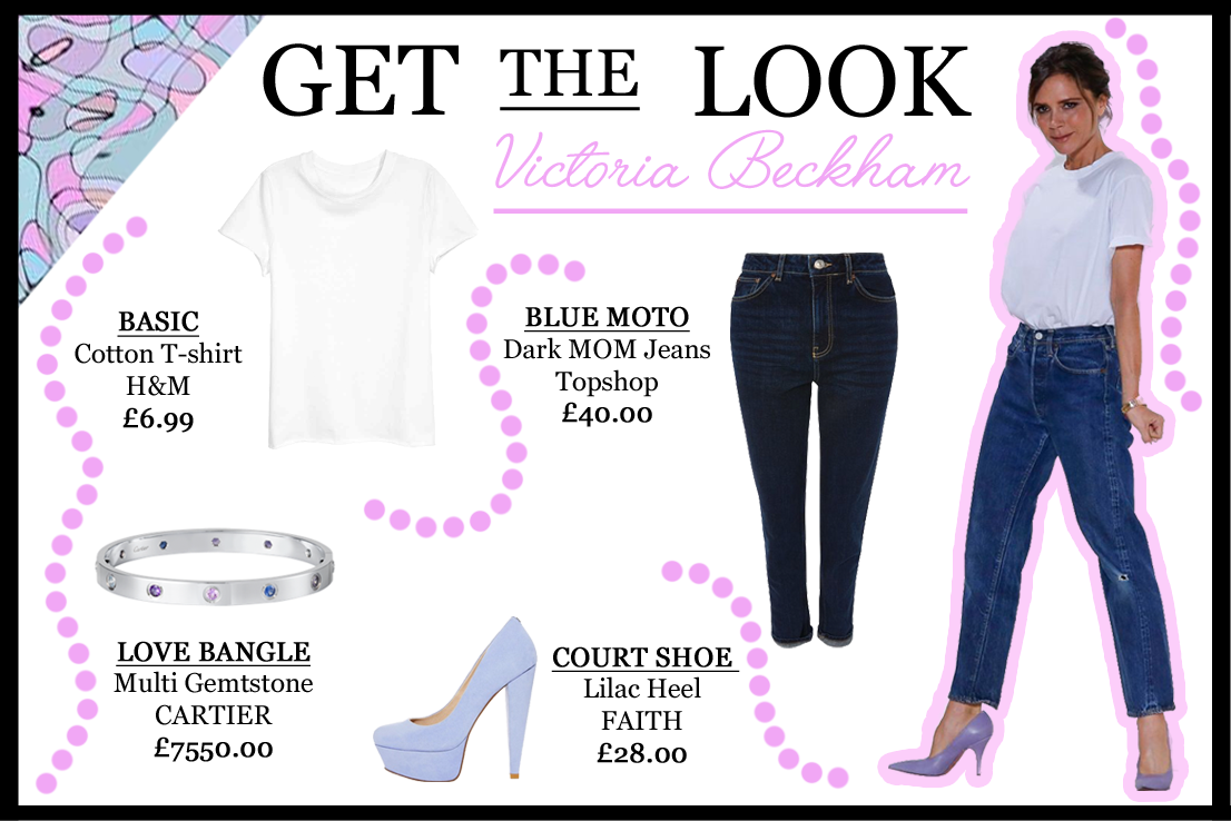 victoria-beckham-white-t-shirt-jeans-look