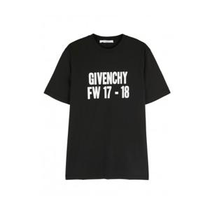 givenchy-t-shirt-printed-black
