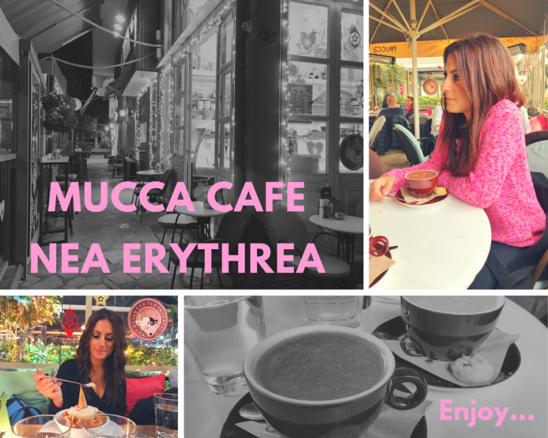 Gelateria Cafe: Mucca – Nea Erythrea