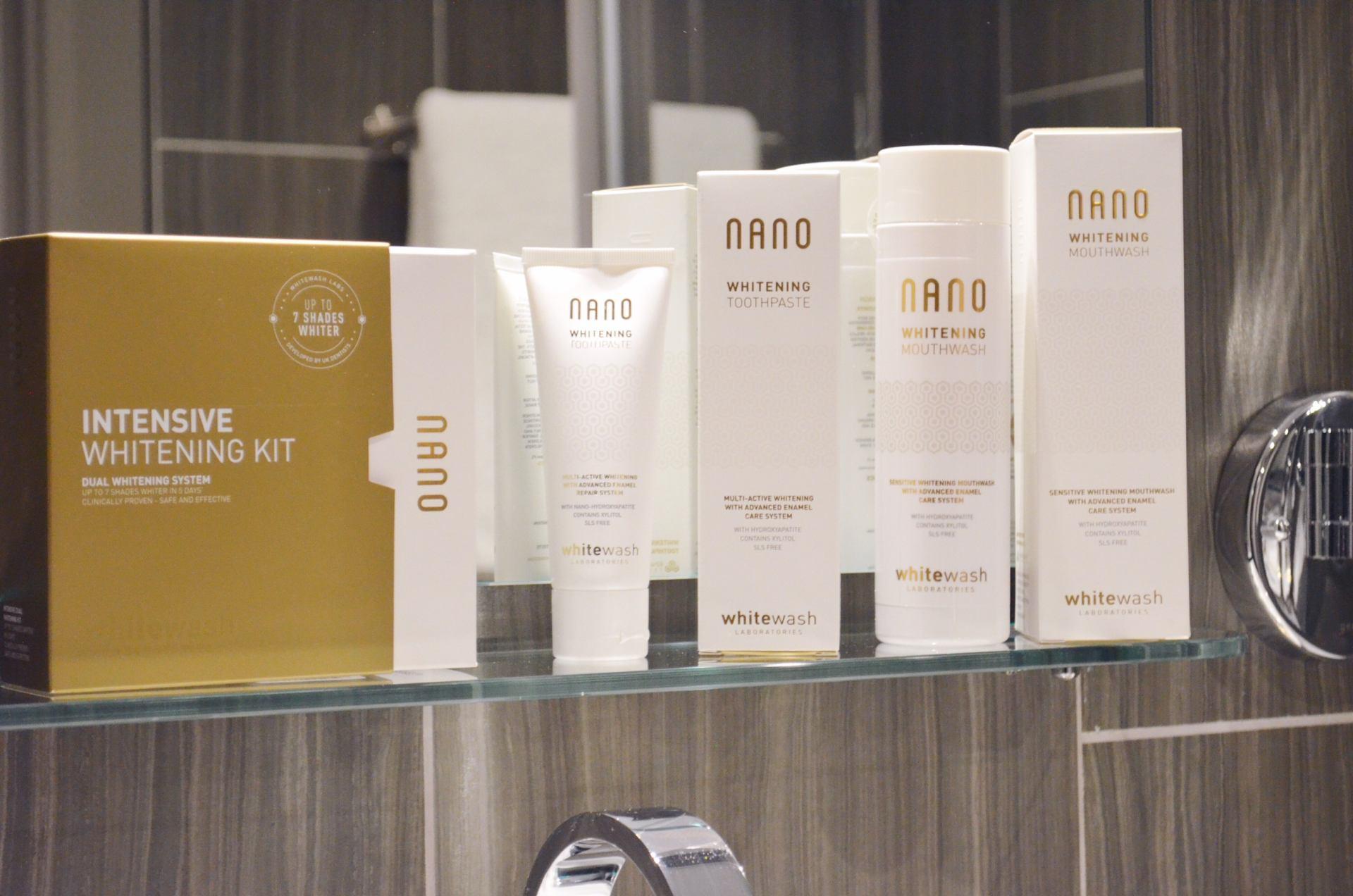 nano-whitening-range-review