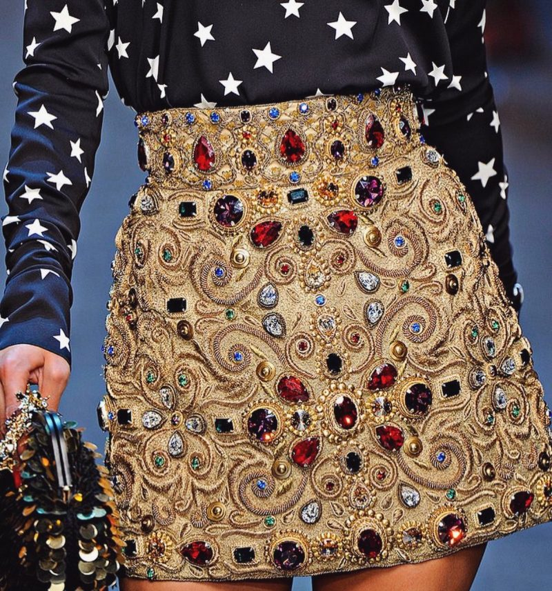 Trends To Look Out For: Embellished Skirts