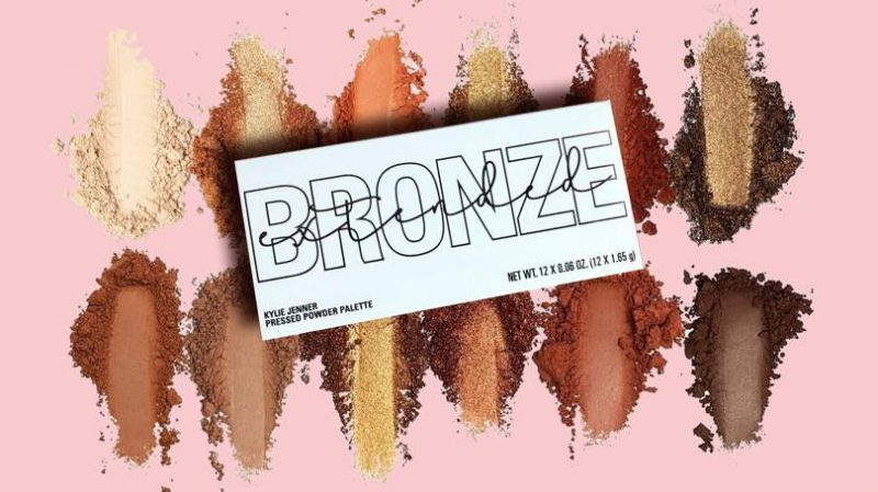 New Kylie Cosmetics Bronze Extended Eyeshadow Palette