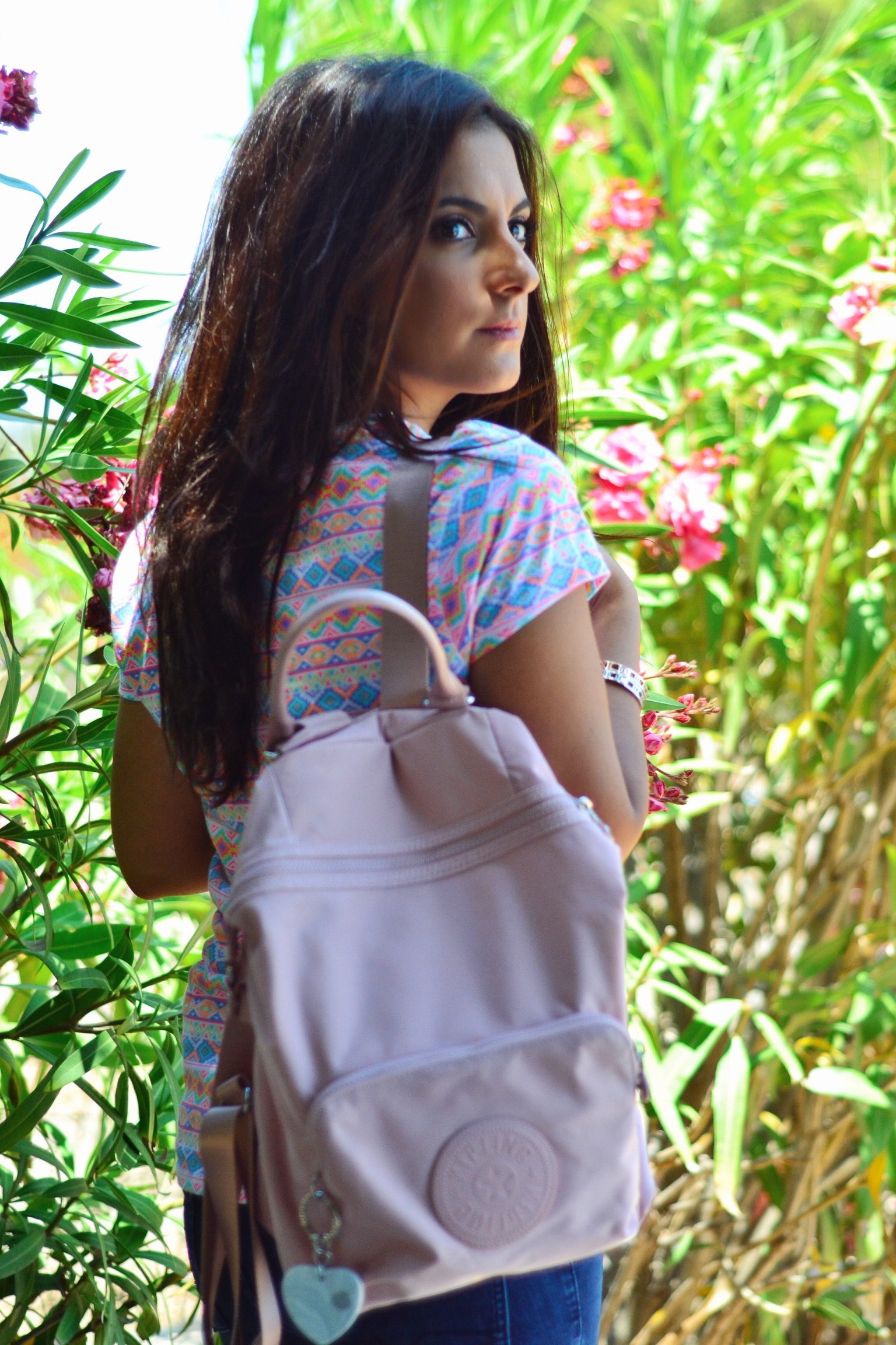 kipping-pink-backpack