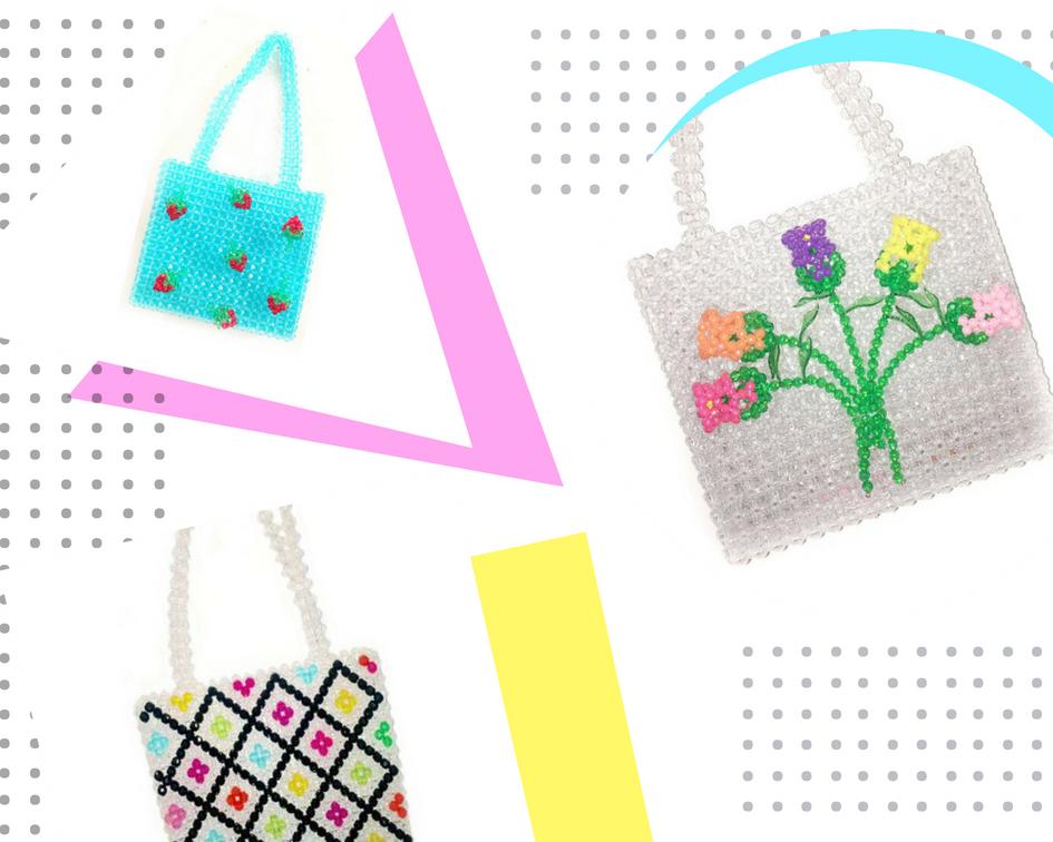 Primary colors Geometric School Photo Collage