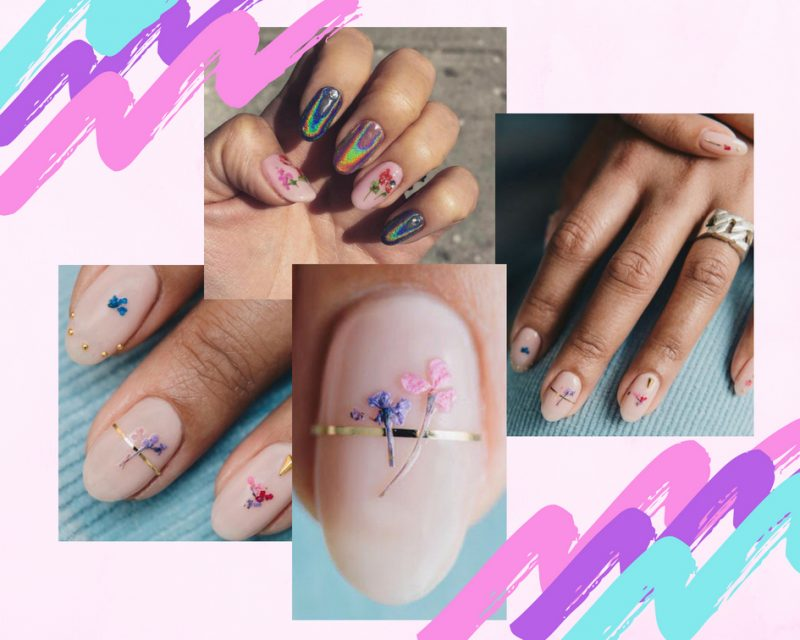 Pressed Flower Nails – The Nail Trend Everyone is Going CRAZY For!