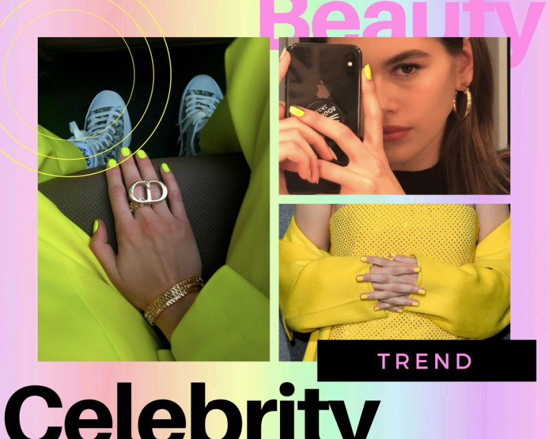 Neon Nails: The Nail Trend Celebrities Are Loving This Summer!