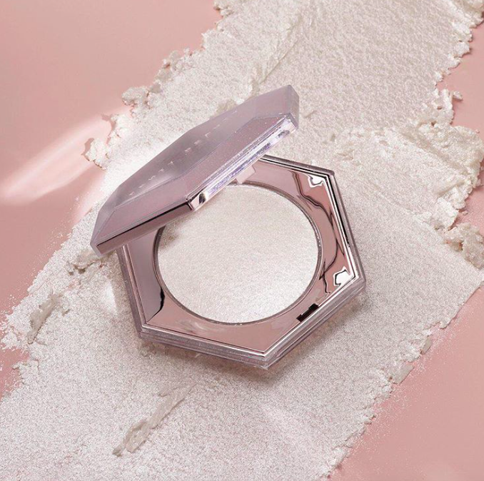 DIAMOND-Inspired Fenty Beauty Products – Diamond Milk Lip Gloss and Diamond Bomb All-Over Highlighter