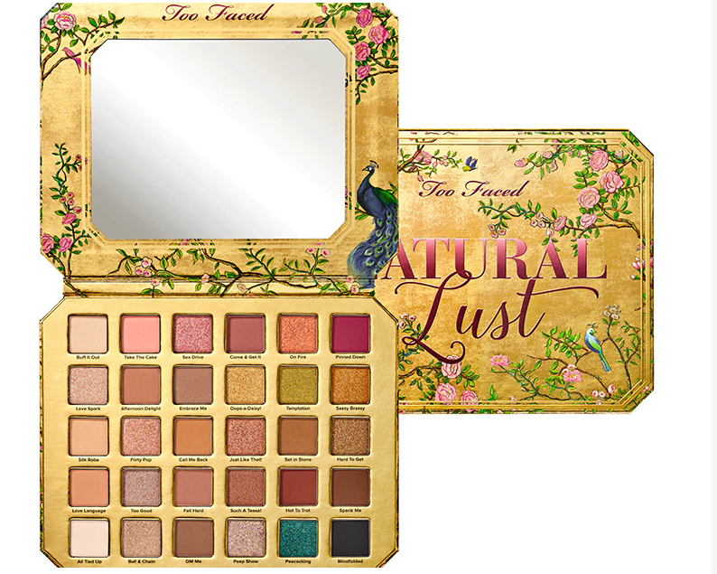 too faced natural lust pallete