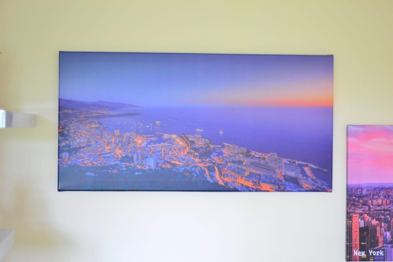 monaco-canvas-print