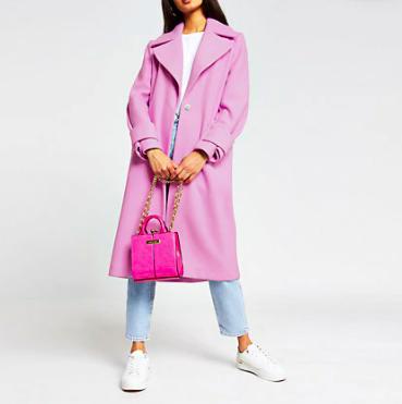 river-island-long-pink-coat