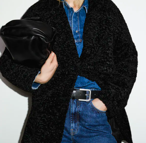 zara-faux-fur-coat-black